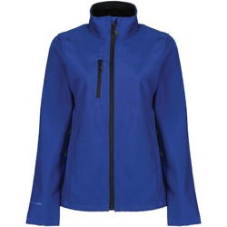 Clothing Women Macs Professional HONESTLY MADE Lightweight Softshell Jacket Seal Grey Blue Blue