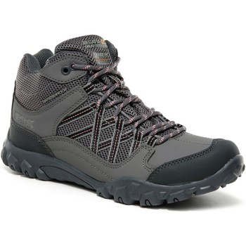 Shoes Children Safety shoes Regatta Edgepoint Mid Waterproof Walking Boots Grey Grey