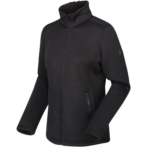Clothing Women Fleeces Regatta RAZIA Fleece Black
