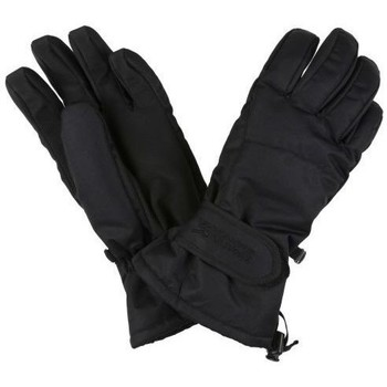 Clothes accessories Men Gloves Regatta Transition II Waterproof Insulated Touchtip Gloves Black Black