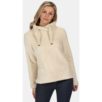 Clothing Women Sweaters Regatta Hannelore Overhead Fluffy Fleece Cream Cream