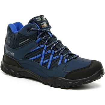 Shoes Children Walking shoes Regatta Edgepoint Mid Waterproof Walking Boots Blue Blue