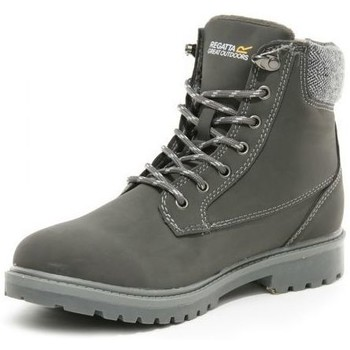 Shoes Women Boots Regatta Bayley III Faux Leather Insulated Casual Boots Grey Grey