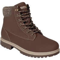 Shoes Men Boots Regatta Bayley Leather Insulated Casual Boots Granite Brown Brown