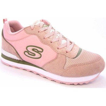 Shoes Women Low top trainers Skechers Step N Fly Pink