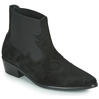 Shoes Women Mid boots Fericelli NANTIAG Black