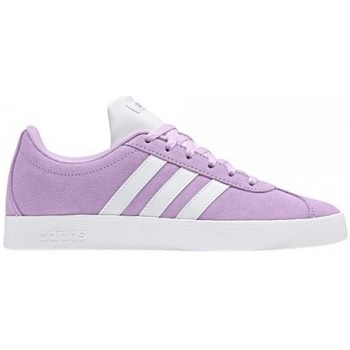 Shoes Children Low top trainers adidas Originals VL COURT 2.0 JUNIOR K B75691 Pink