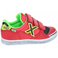 Shoes Children Low top trainers Munich G-3 KID VCO SWITCH 1514129 Red