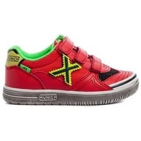 Shoes Children Low top trainers Munich G-3 VCO SWITCH 129 1514129 Red