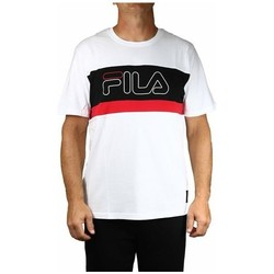 Clothing Men Short-sleeved t-shirts Fila Men Laurens Tee White, Black, Red