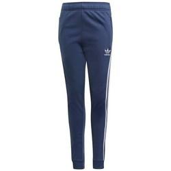 Clothing Children Tracksuit bottoms adidas Originals Sst Pants Navy blue