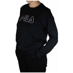 Clothing Women Sweaters Fila Women Lara Crew Sweat Black