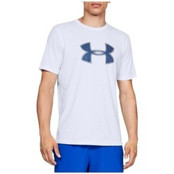 Clothing Men Short-sleeved t-shirts Under Armour Big Logo SS Tee White