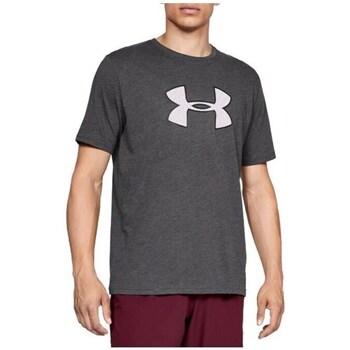 Clothing Men Short-sleeved t-shirts Under Armour Big Logo SS Tee Grey