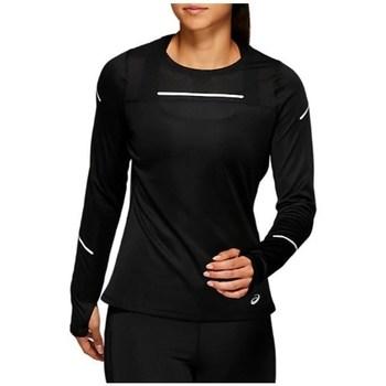 Clothing Women Long sleeved tee-shirts Asics Liteshow 2 LS Top Black