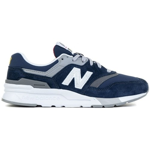 Shoes Women Low top trainers New Balance 997 White, Grey, Navy blue