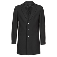 Clothing Men Coats Jack & Jones JJEMOULDER Black