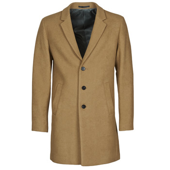 Clothing Men Coats Jack & Jones JJEMOULDER Camel