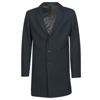 Clothing Men Coats Jack & Jones JJEMOULDER Marine