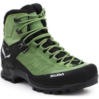 Shoes Men Walking shoes Salewa MS MTN Trainer MID GTX 63458-5949 black, green