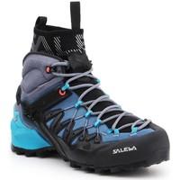 Shoes Women Walking shoes Salewa WS Wildfire Edge MID GTX 61351-8975 navy , grey, black