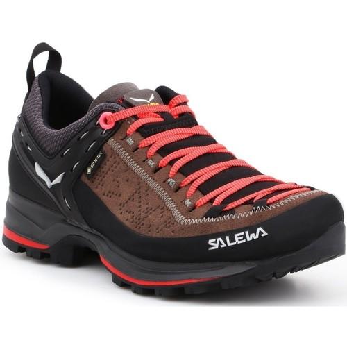Shoes Women Walking shoes Salewa WS MTN Trainer 2 GTX 61358-0480 black, brown