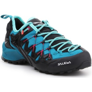 Shoes Women Walking shoes Salewa WS Wildfire Edge 61347-8736 black, blue
