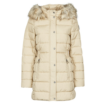 Clothing Women Duffel coats Only ONLLUNA Beige