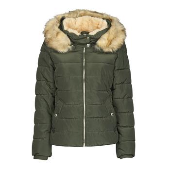 Clothing Women Duffel coats Only ONLCAMILLA Kaki