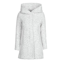 Clothing Women Coats Only ONLNEWSEDONA Ecru