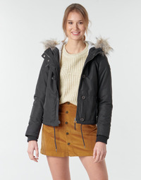 Clothing Women Parkas Only ONLPEYTON Black