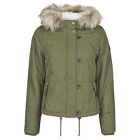 Clothing Women Parkas Only ONLPEYTON Kaki