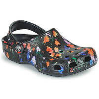 Shoes Women Clogs Crocs CLASSIC PRINTED FLORAL CLOG Black / Multicolour