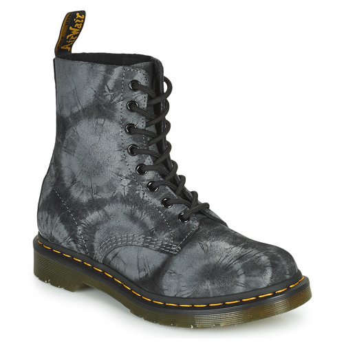 Shoes Women Mid boots Dr Martens 1460 PASCAL Black / Grey