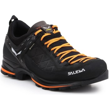 Shoes Men Walking shoes Salewa MS MTN Trainer 2 GTX 61356-0933 black, orange