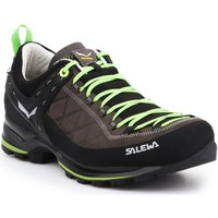 Shoes Men Walking shoes Salewa MS MTN Trainer 2 L 61357-0471 brown, black, green