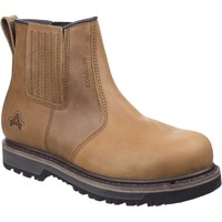 Shoes Men Mid boots Amblers Safety AS232 Tan