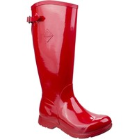 Shoes Women Wellington boots Muck Boots WBT-600 Bergen Tall Red