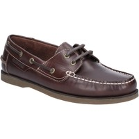 Shoes Men Boat shoes Hush puppies HPM2000-10-6 Henry Brown