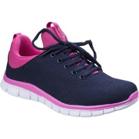 Shoes Women Low top trainers Fleet & Foster Pompei Navy