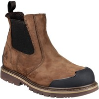 Shoes Men Mid boots Amblers Safety FS225 Brown