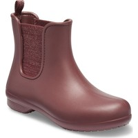 Shoes Women Wellington boots Crocs 205959-6RH-3 Freesail Metallic Chelsea Boot Metallic Burgundy