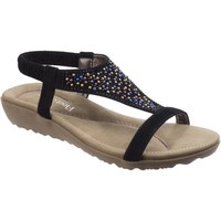 Shoes Women Sandals Fleet & Foster NICOSIA-BLK-36 Nicosia Black