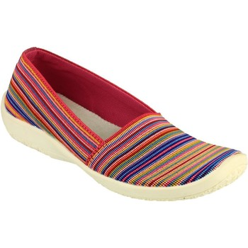 Shoes Women Slippers Cotswold Broadwell Multi and Fuchsia
