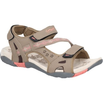 Shoes Women Outdoor sandals Cotswold WS3764-TPE-36 Whichford Taupe and Pink