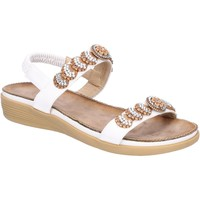 Shoes Women Sandals Fleet & Foster 6K1906-1-WHI-36 Java White