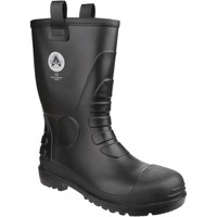 Shoes Wellington boots Amblers Safety FS90 Black