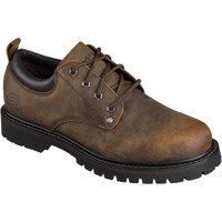 Shoes Men Derby Shoes Skechers Tom Cats Dark Brown