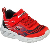 Shoes Boy Fitness / Training Skechers 401500N-RDBK-21 Magna-Lights Bozler Red and Black