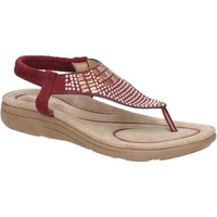 Shoes Women Sandals Fleet & Foster 6K5536-815-BDO-36 Mulberry Bordo